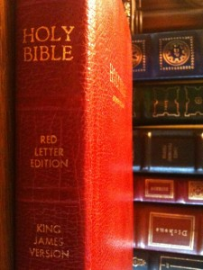 the st. james bible red letter edition
