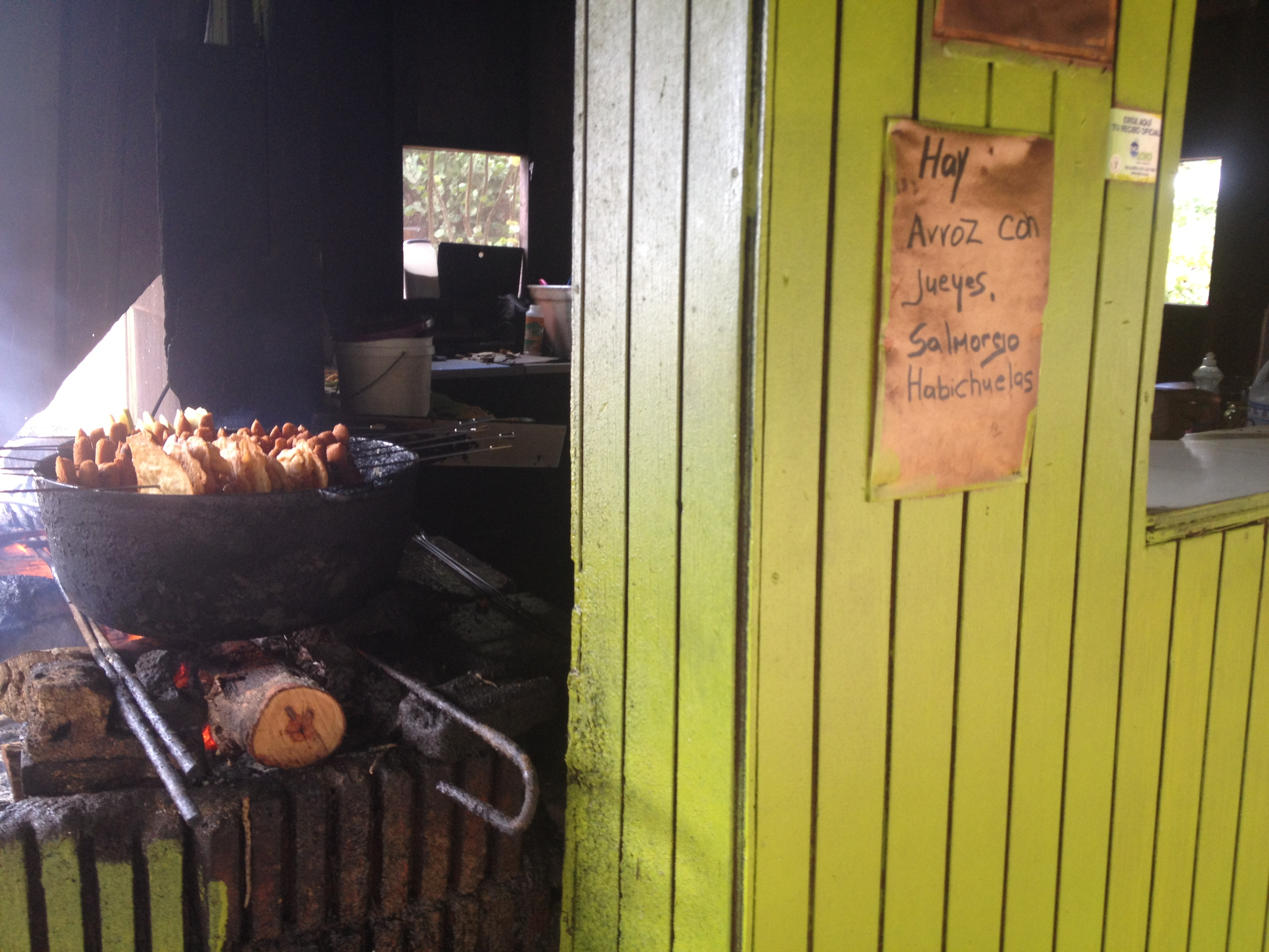 wood-fired grill in Puerto Rico
