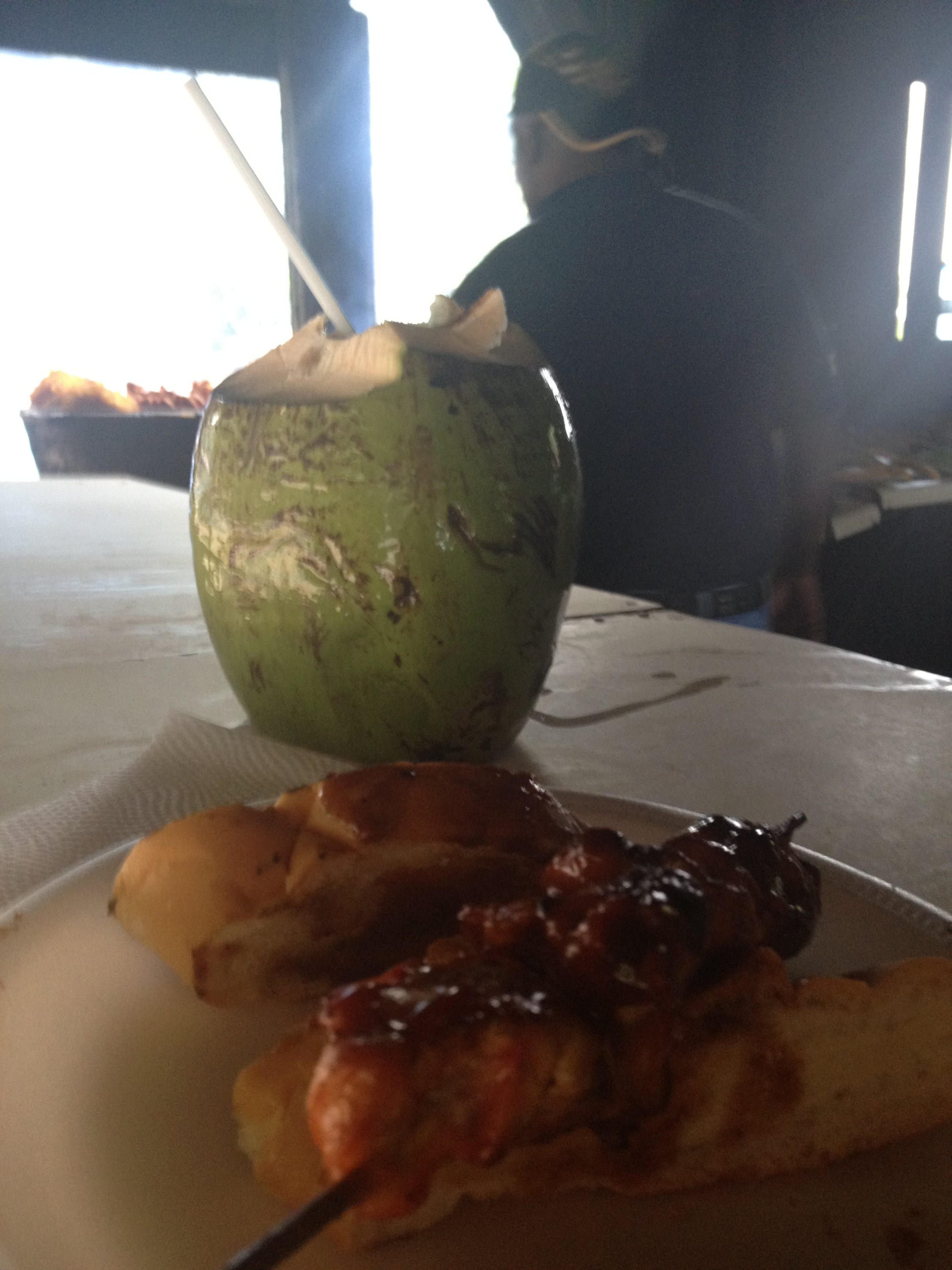 Coconut Water and Tiberon Pinco